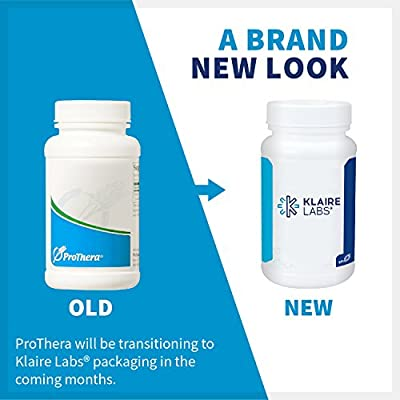 Klaire Labs Neurothera - 12 Neuro-Active Nutrient Formula with Phosphatidylserine, Choline & Ginkgo, Cognitive Support Blend with No Dairy or Artificial Preservatives (60 Tablets)
