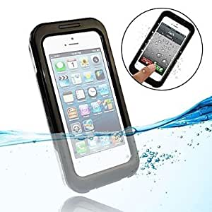 GDW Funda Impermeable - Diseño Especial - para iPhone 4/4S/iPhone 4/iPhone 5/iPhone 5C/iPhone 5S ( Negro , Policarbonato/ABS )