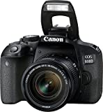 Canon EOS 800D Digital SLR with 18-55 is STM Lens Black (International Model No Warranty) Review