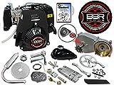 BBR Tuning 49cc 5G Pull Start Bicycle Engine Kit – 4 Stroke Gas Powered Bike Motor Engine Kit