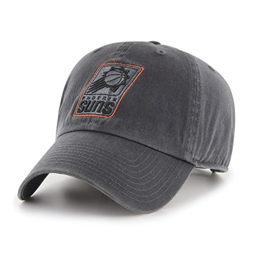 (NBA Phoenix Suns Male OTS Challenger Adjustable Hat, Dark Charcoal, One)
