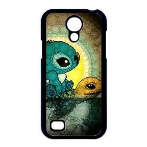 Disney Lilo & Stitch P5W88L7NZ funda Samsung Galaxy S4 Mini caso i9190 funda 626D11 negro