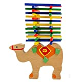 Wooden Puzzle Stacking Building Blocks Balance Board Table Game Camel Balancing Toy Educational Gift For Kids 40 pieces