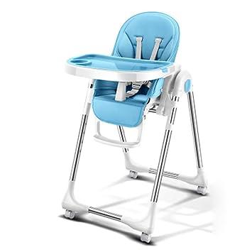 SJZC Confort Chaise Haute BeBe Pliable ReGlable Pour Inclinable A