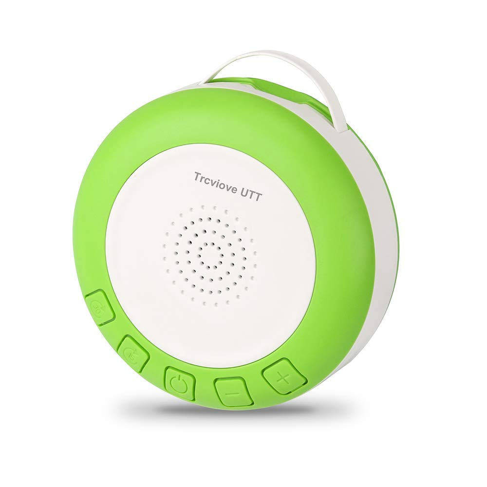 Shusher Portable White Noise Sound Machine Baby Sleep Sound Machines for Sleeping Kids Newborns Baby Soother with Auto-Off Timer and Volume Control