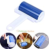 AMAZZANG-Washable Sticky Dust Cleaner Pet Hair Reusable Dust Wiper Tools Lint Roller (as picture)