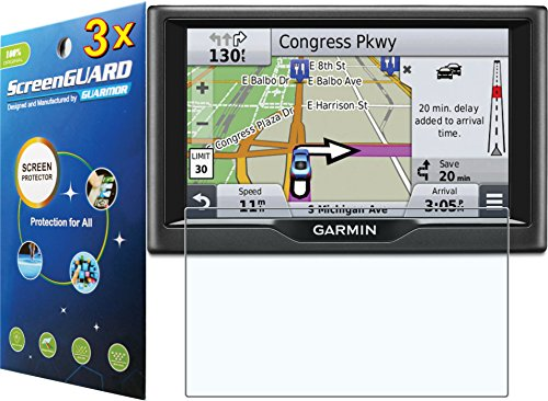 3pcs Premium Clear LCD Screen Protector Guard Film for Garmin Nuvi 67 67LM 67LMT 68 68LM 67LMT GPS