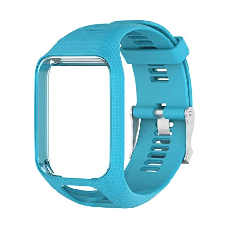 Amazon.com: Silicone Replacement Watch Band Wrist Strap for ...