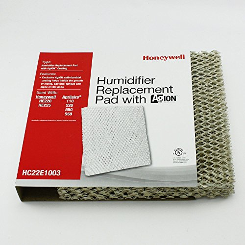Honeywell HC22E1003 HE225 Humidifier Pad with Agion Coating