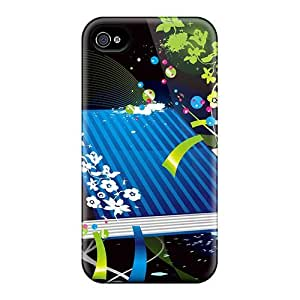 Case Cover Colorful Vector Book Iphone 4/4s Protective Case by Maris's Diaryby Maris's Diary