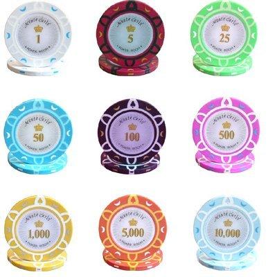 お気に入り 500枚入り14 Poker g Poker Monte Carlo 500枚入り14 Poker Room Poker Chipsバルク – Choose Denominations B071RLS2B9, ハイアールストア:307e5fc0 --- martinemoeykens.com