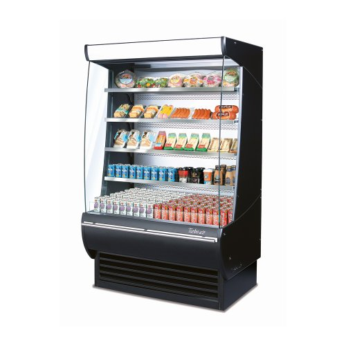 Turbo Air TOM-60-DX Vertical Open Display Case Extra Deep Cooler