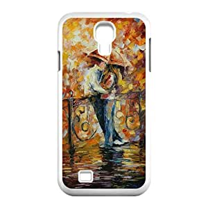 D-PAFD Customized The Kiss Pattern Protective Case Cover Skin for Samsung Galaxy S4 I9500