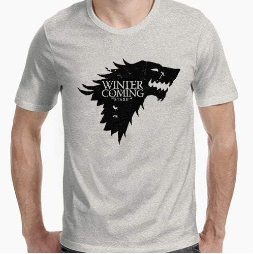 Positivos Camisetas Juego de Tronos - Winter is Coming - XL: Amazon.es: Hogar