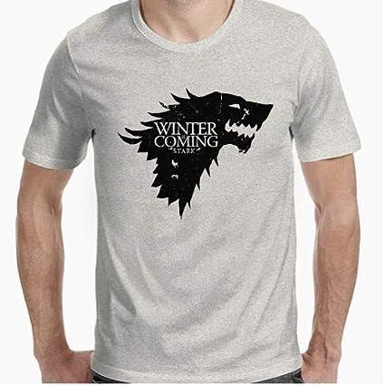 Positivos Camisetas Juego de Tronos - Winter is Coming - XL