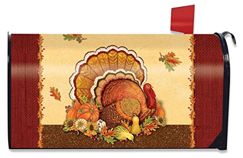 Thanksgiving Turkey Large Mailbox Cover Holiday Oversized Briarwood Lane