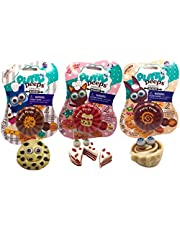 Putty Peeps Sweets Bakery / Fun Easter Toy / 3 Piece Scented Putty / Make Your Own Putty Sweet Treat/ Tested Fidget Toy for Anxiety Relief / Squishy Stretchy Fun / Never Dries Out for Boys and Girls