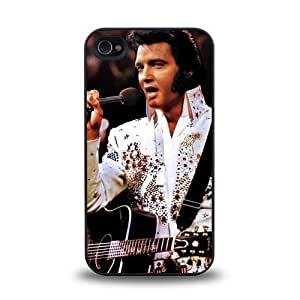 iPhone 4 4S case protective skin cover with rock singer star Elvis Presley cool design #3