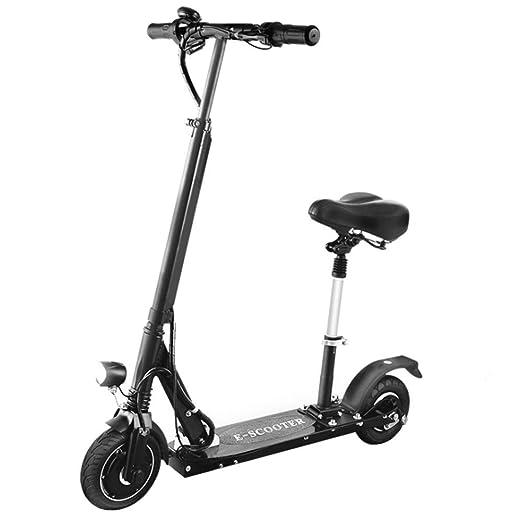 Y&XF Scooter eléctrico Plegable para Adultos - Asa portátil ...