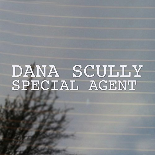 dana-scully-special-agent-vinyl-decal-white