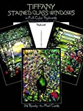 img - for Tiffany Stained Glass Windows: in Full-Color (Post) Cards: 24 Cards (Dover Postcards) book / textbook / text book
