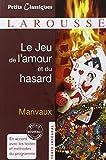 Le Jeu De L'amour Et Du Hasard (Petits Classiques) (French Edition), Marivaux, 2035859158