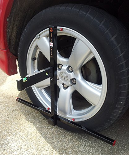 Alignment Set up for BOTH Sides QuickSlide System w/Case Portable Wheel Alignment ()