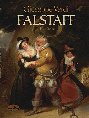 Falstaff in Full Score (Dover Music Scores)