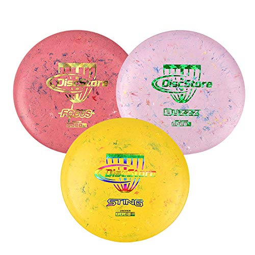 Discraft Jawbreaker Disc Golf Starter 3 Disc Pack - Assorted Colors by Disc Store