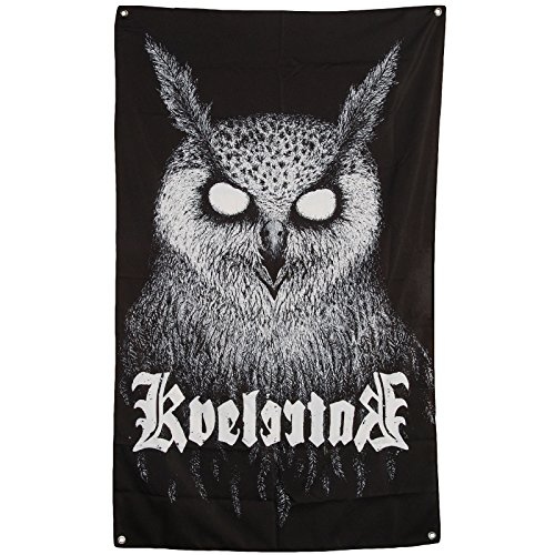 Kvelertak Bartlett Owl - Poster Flag Art Fabric Textile Heavy Metal Music Band