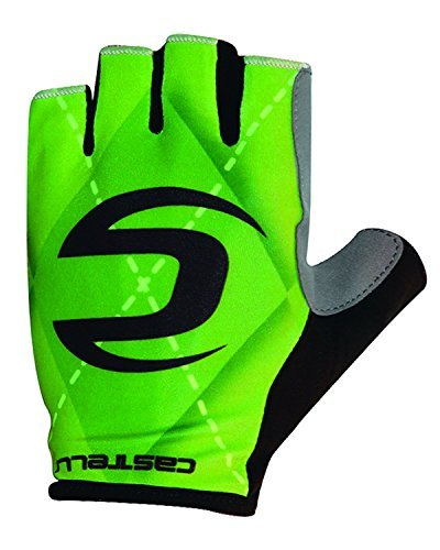 Castelli 2016 Cannondale Roubaix Cycling Gloves - V4206027 (Green - 2XL)