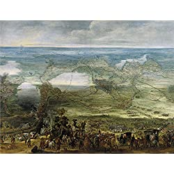 Polyster Canvas ,the High Definition Art Decorative Prints On Canvas Of Oil Painting 'Snayers Peter Isabel Clara Eugenia En El Sitio De Breda Ca. 1628 ', 20 X 26 Inch / 51 X 66 Cm Is Best For Powder Room Gallery Art And Home Gallery Art And Gifts