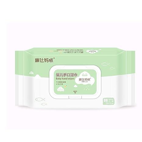 ReFaXi Sensitive Protect Toallitas húmedas húmedas para el Cuerpo 80 toallitas húmedas por Paquete Extra Suave