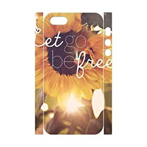 Be Free Custom 3D Cover Case for Iphone 5,5S,diy phone case ygtg581490