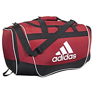 adidas Defender II Duffel Bag, University Red, Large