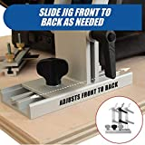 Adjustable Replacement Tool Rest Sharpening Jig for 6 inch or 8 inch Bench Grinders and Sanders BG   Features Internal Lock Washers for Extra Platform Stability