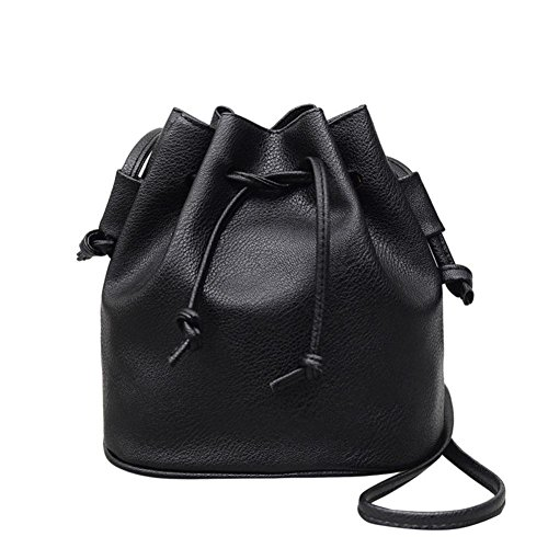 Sacoche sac Main Sac Beautyjourney Chaines Noir Cuir Bandouliere Epaule À femme Bandoulière Femme Pure Couleur Femme qf6xCnxp