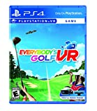 Video Games : Everybody's Golf VR - PlayStation 4