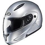 HJC Full Face Helmet CL-MAXBT 2 Solid Metallic CR Silver