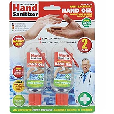 Hand Sanitizer Dr Davisons Paquete Doble (Se distribuye Desde el Reino Unido)