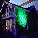 MNOPQ Outdoor Ocean Wave Light Projector with High