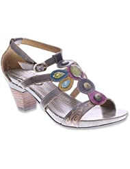 Spring Step Womens Frenzie Lightweight Strap Sandals