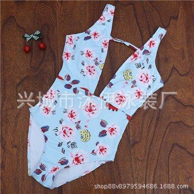 Piece Bagno Safeone Tianlu Bikini Azzurro Donna Da L Serie Sexy Costume Dimagrante Set Safe wzHYqS
