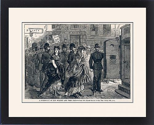 Framed Print of Boulton and Park arrested for wearing women s clothes by Prints Prints Prints