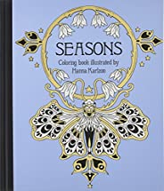 Seasons Coloring Book: Published in Sweden as Tidevarv