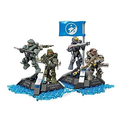 Mega Construx Halo Ultimate Blue Team Building Set: Toys & Games