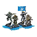 Mega Construx Halo Ultimate Blue Team Building Set