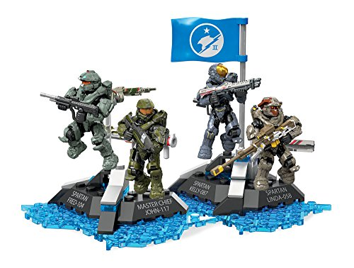 Ultimate Team Set - Mega Construx Halo Ultimate Blue Team Building Set