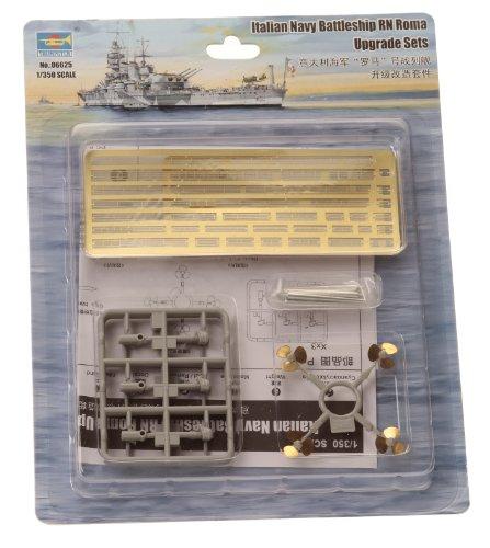 トランペッター 1/350 イタリア海軍 戦艦ローマ アップグレードパーツ