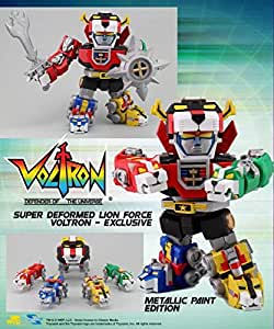 2015 SDCC Toynami Altimite DX Transforming Metallic VOLTRON COMIC CON Exclusive